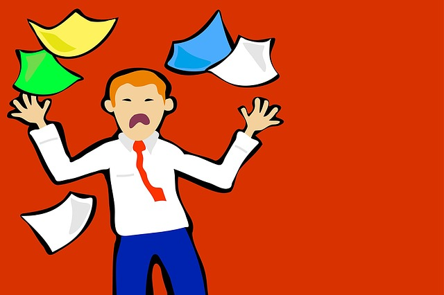 Stressed-Paperwork