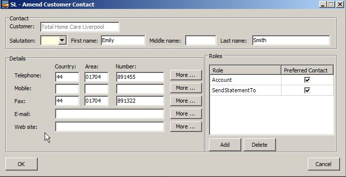 how to change layout of statments sage 50